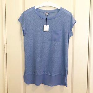 NWT Calvin Klein Linen T-shirt